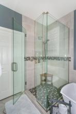 Master Shower glass