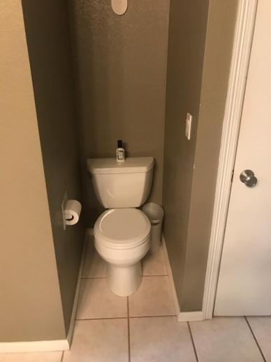 coffin toilet